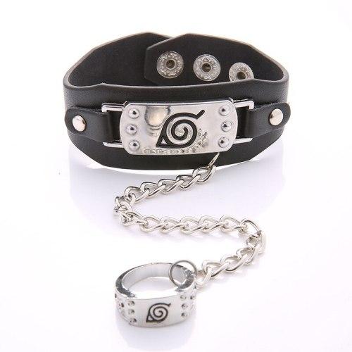 Anime One Piece Naruto Braided Leather Bracelet  Cosplay Wristband Zelda Punk Fashion Bracelet