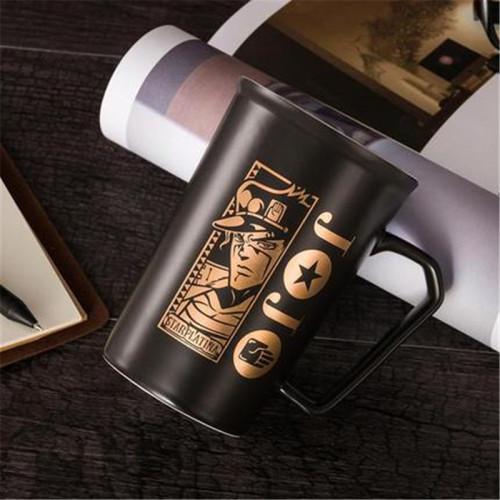 Anime New JoJo Bizarre Adventure Kujo Jotaro Cosplay Props Ceramics Cup 3D Print Mug