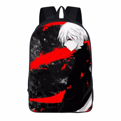 Japanese Anime Tokyo Ghoul Student Backpacks DIY Printing Cool School Student Bags
