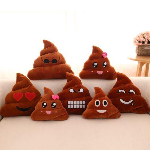 Buy Kawaii Plush Poop Emoji Pillow Caca Cushion Shit Poo Shape Throw Pillow Cushions Moe Energy