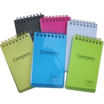 Comix Notebook stationery coils A7 candy color Notepad page portable book.