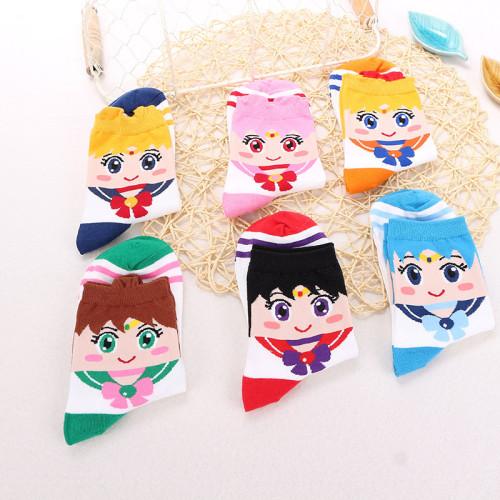 Sailor Moo Tsukino Usagi Ankle Socks