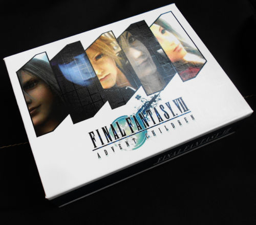 Final Fantasy VII FF7 Neckace Pendant Keychain Swords Weapons Cosplay Props New in BOX 4pcs Set Collection