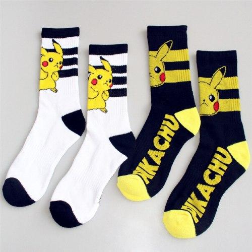 Anime Pokemon Go Kawaii Pikachu Cosplay Socks
