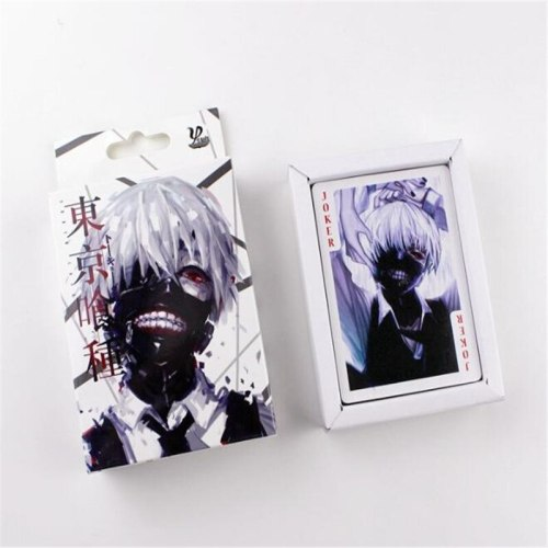 54 pcs/pack Anime Tokyo Ghoul Action  Toys figures Collection Poker Game Cards Toy A879
