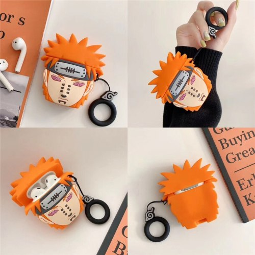NARUTO Character 3D Silicone Protective Cover Case for  Shockproof Wireless Bluetooth Earphone Box