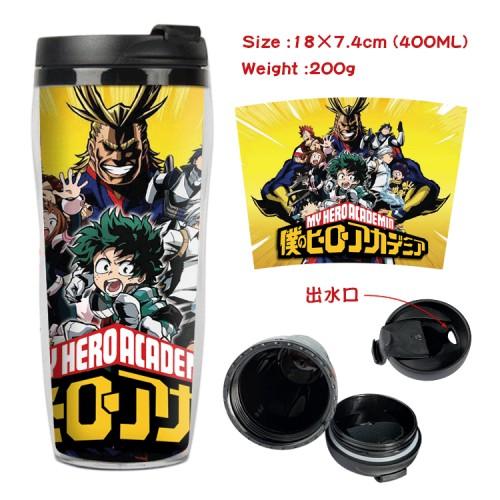 400ML Boku No My Hero Academia Cosplay Double-deck Portable Cup