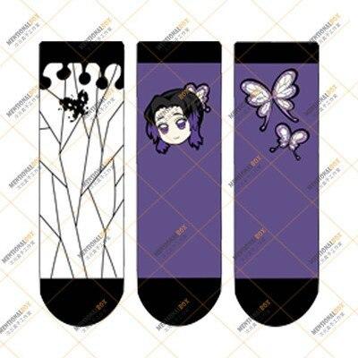 New Demon Slayer Kimetsu no Yaiba Hashibira Inosuke Cosplay Props Socks