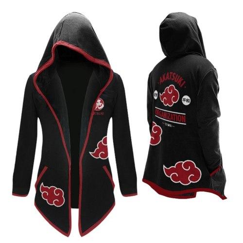 Anime NARUTO Akatsuki Cosplay Hooded Jackets