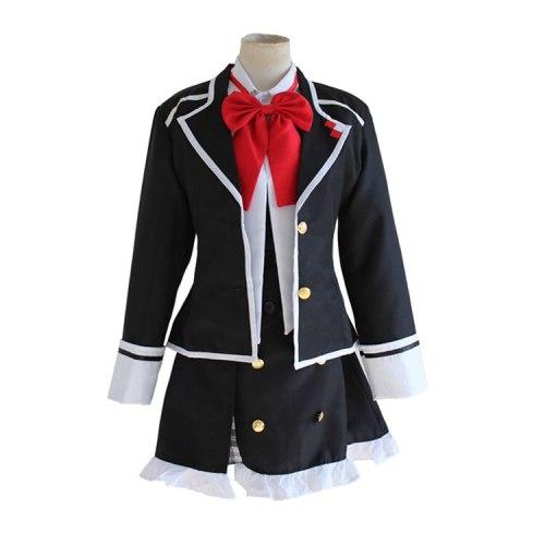 DIABOLIK LOVERS Costumes Komori Yui Cosplay Uniforms