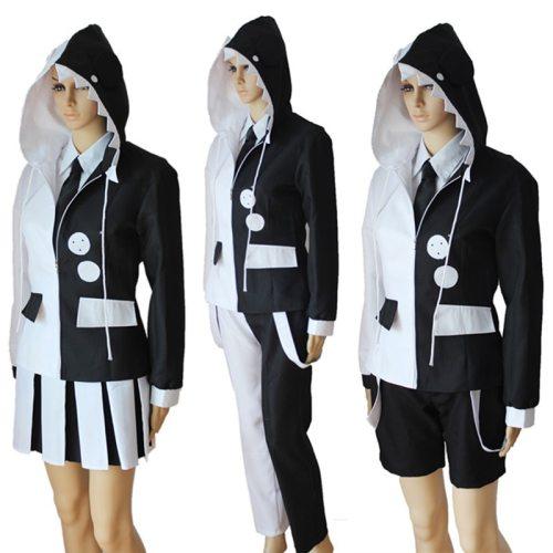 Danganronpa Black and White Bear Monokuma Uniform