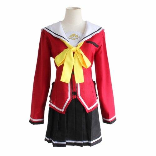 Charlotte Tomori Nao School Uniform Cosplay Costume