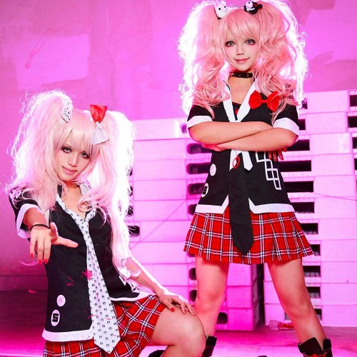 Uniform Havoc Enoshima Junko Cosplay Costume