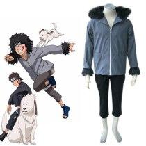 Naruto Outfits Shippuden Inuzuka Kiba Cosplay Costumes