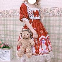 Lolita Dress Short-Sleeved Dress