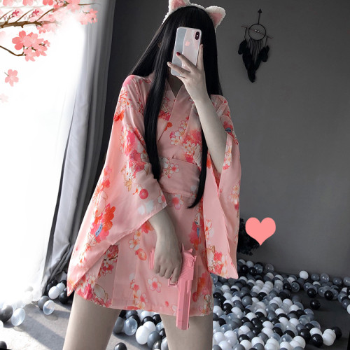 Traditional Style Robe Yukata Costumes Pajamas