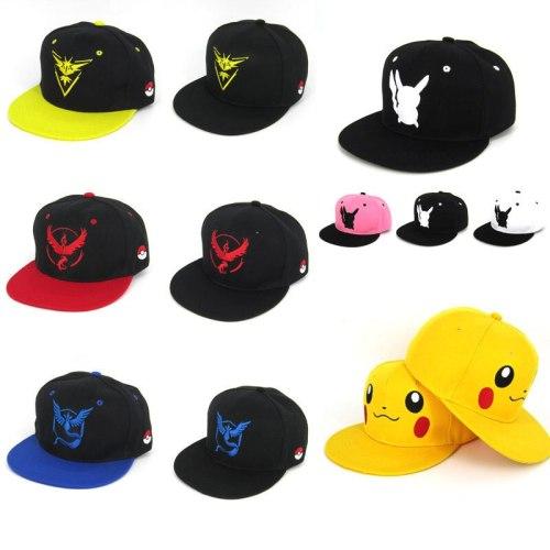 New Pokemon Go Embroidery Baseball Cap