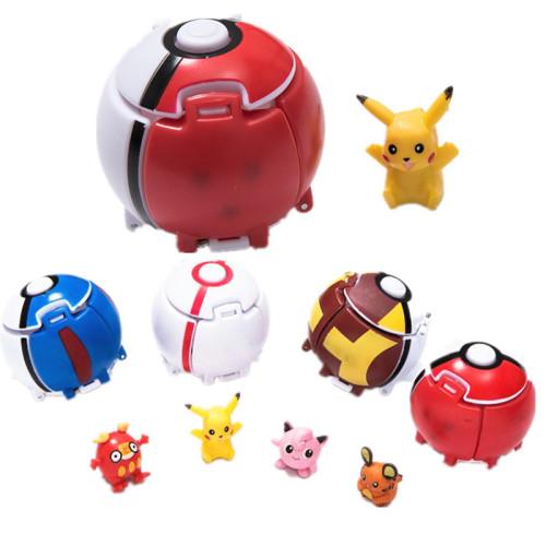 Pokemon Ball Pikachu Pocket Monsters Ball