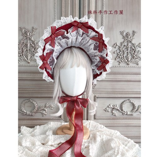 Gorgeous Tea Party Vintage Sun Hat Sweet Lolita Bonnet