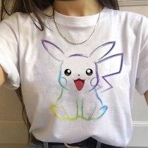 Pokemon Go Pikachu Vogue Harajuku T Shirt