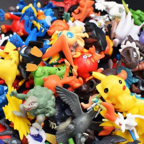 Pokemon Go Action Figure Toy Model Decoration Dolls