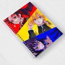 Kimetsu No Yaiba Note Book Sketchbook