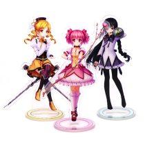 Anime Puella Magi Madoka Magica Kaname Madoka Cosplay Cartoon Figure Desk Stand Model Plate Decor Xmas Gift
