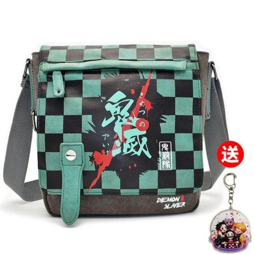 Anime Demon Slayer My Hero Academia ONE PIECE MDZS Cosplay Student Fashion Canvas Messenger Bag Shoulder bag Casual Handbag