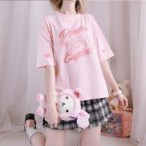 Kawaii Gemini Cupid T-shirt Tee Tops