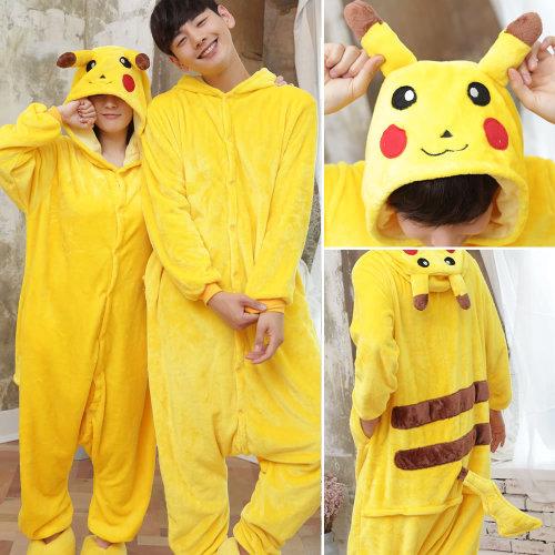 Animal Cosplay Costume Pokemon Bear Dinosaur Leisure Wear Multiple Pajamas