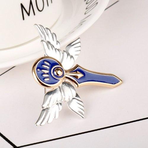 Anime Knight Badge Jewelry Code Geass Brooch Rebellious Brooch Pin
