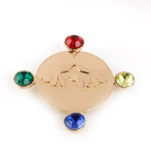 Anime Sailor Moon Brooch Star Power  Brooches Jewelry Cloth Pin