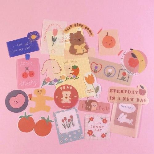 50PCS Journal Decorative Stickers
