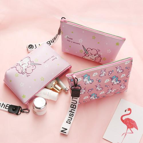 Unicorn Cosmetic Bag Travel Case Makeup Bag