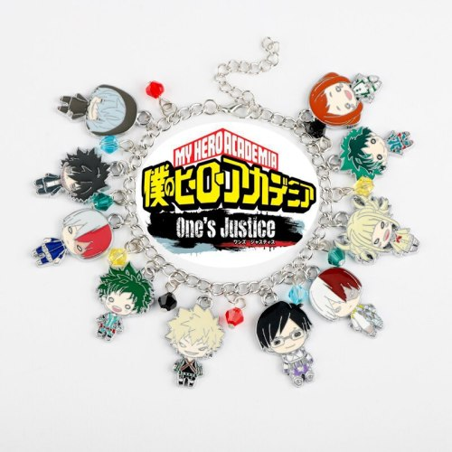 Anime Jewelry My Hero Academia Charm Bracelet