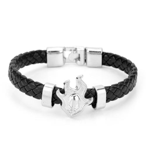 Anime Bleach WristBand Weave Leather Bracelet