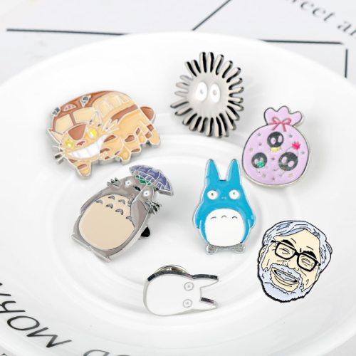 Miyazaki Anime Brooch Totoro Enamel Pins & Brooches