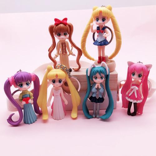 Cute Sailor Moon Tsukino Usagi Hatsune Miku PVC Action Figure
