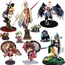 Onmyoji Youtouhime Kokakuchou Aoandon Zen PVC Action figure Toy Anime figures Games Statue Figure Collection Model Doll Gifts