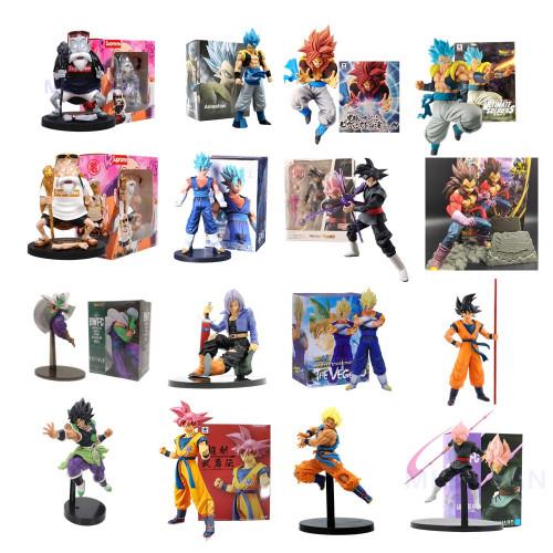 Dragon Ball Z Super Saiyan Son Goku Vegeta Action Anime Figures PVC Toys
