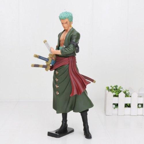 Anime One Piece Figure Roronoa Zoro Action Figure Battle Version Rengoku Onigiri Zoro PVC Model Doll 13-26cm Toys