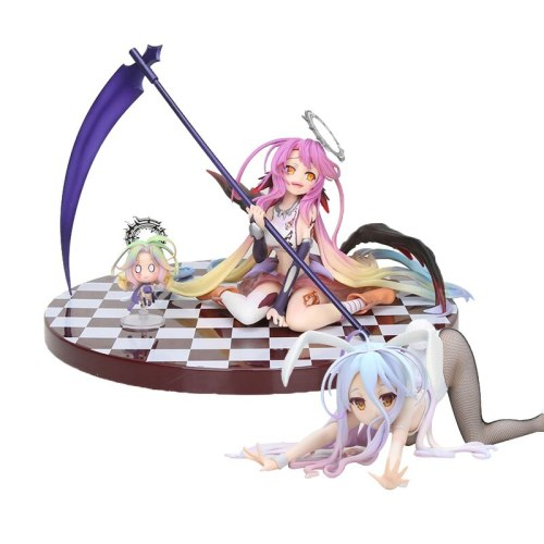 "Anime NO GAME NO LIFE Jibril 15cm//6/"" PVC Figure Toy In Box Model Collection"