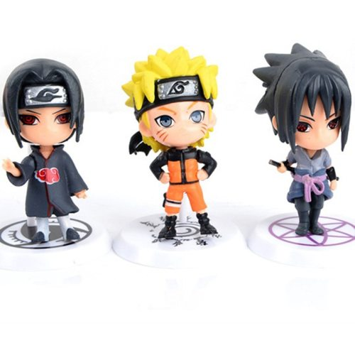 Naruto Action Figure Toys 23 Styles Q Style PVC Model Doll Collection 1PCS/Lot