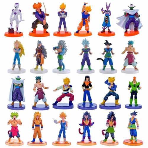 Dragon Ball Z Figure 6PCS 10 Style 13CM PVC Model