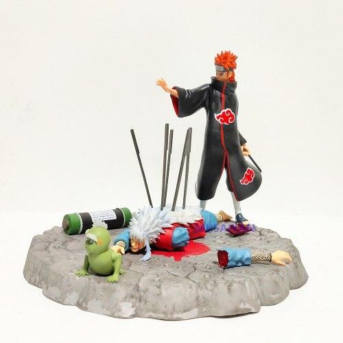 Naruto Pain VS Jiraiya Dead Action Model Figure