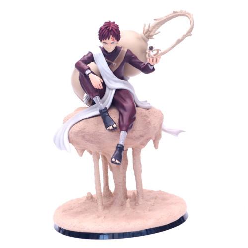 22cm Japanese Anime NARUTO Gaara Sand Coffin Sabaku No Gaara CS GK Action Figure Gaara PVC Collectible Model Toy Gifts