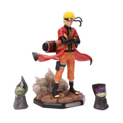 Naruto PVC Action Figures Statue Obito Guy Kakashi Itachi kyuubi Anime