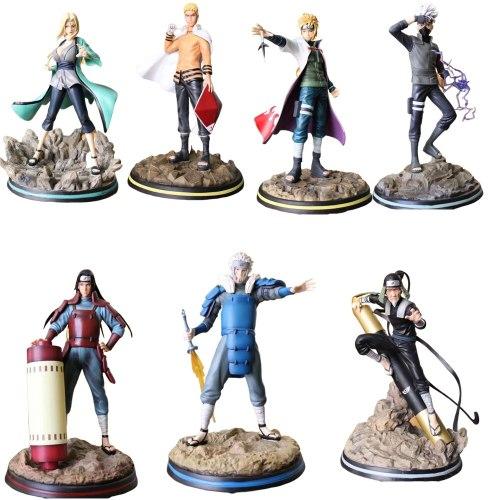 Naruto Shippuden Statue Uzumaki Action Anime Figures Model PVC Toys Figma Doll