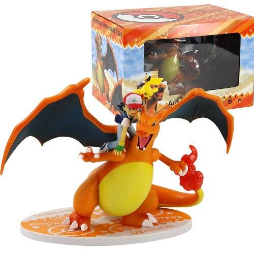 MegaHouse Ash Ketchum Mega Charizard Figure