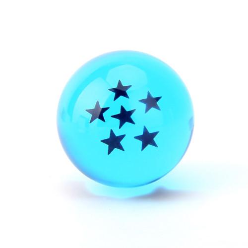 7.5CM Dragon Ball 7 Stars Crystal Ball PVC Model Toy